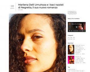 Marilena Delli Umuhoza e i baci razzisti di Negretta, il suo nuovo romanzo