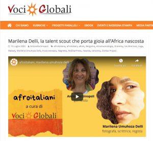 Negretta su Voci globali