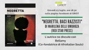 """La libreria Griot presenta """"Negretta"""""""