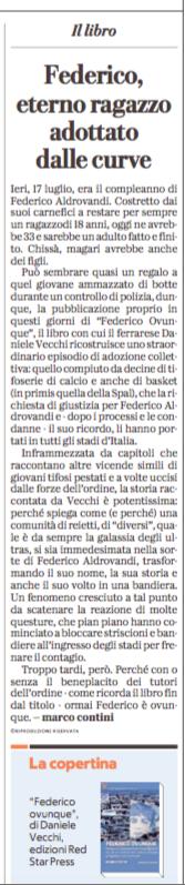 Federico ovunque su La Repubblica