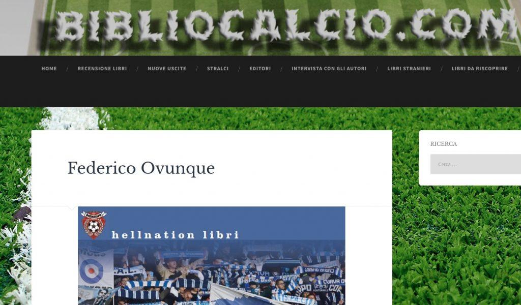 Federico Ovunque su Bibliocalcio.com