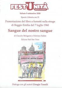 Sangue del nostro sangue a FestUnità di Bologna